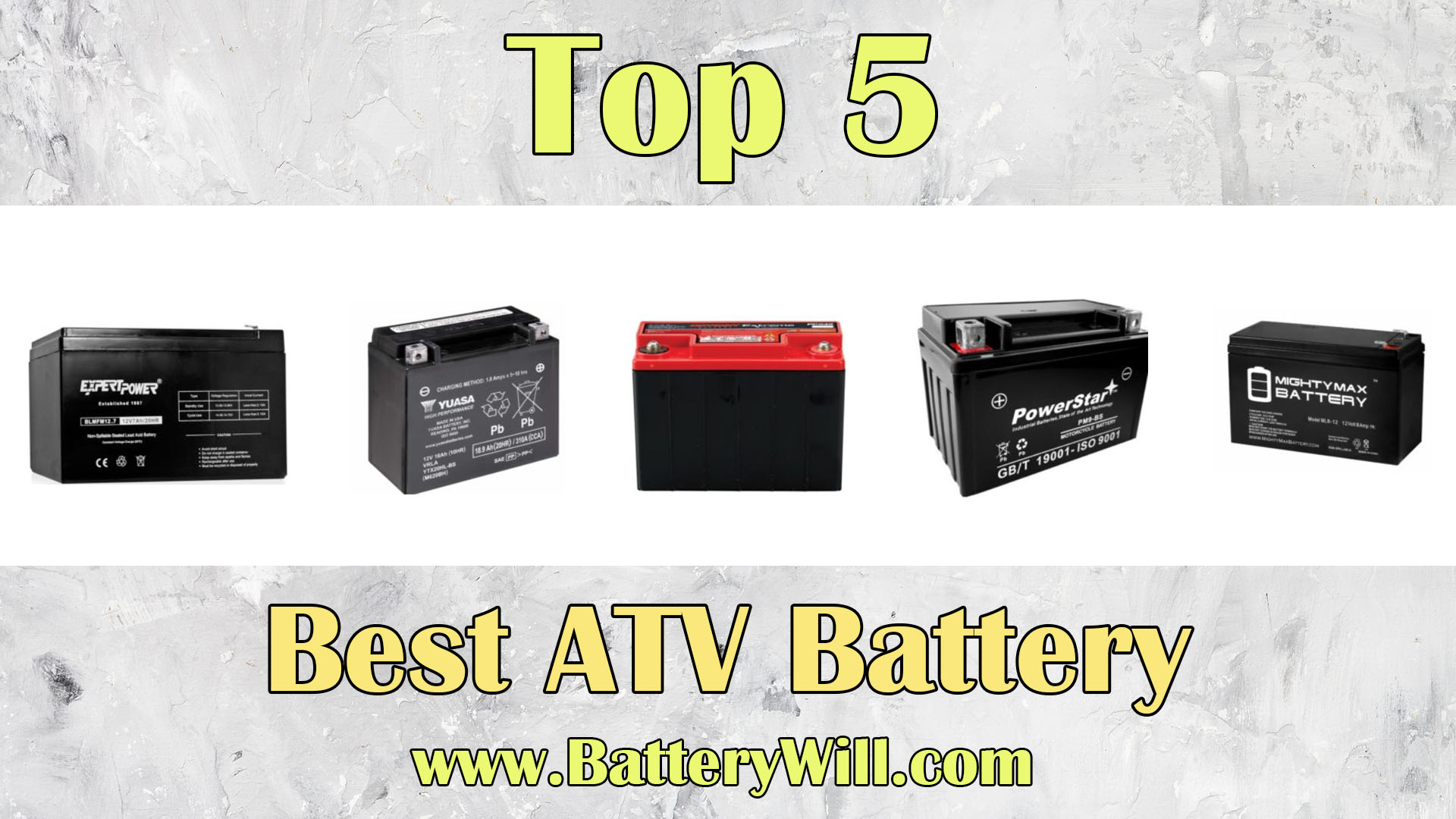 The complete guide to picking the best ATV battery - 2019