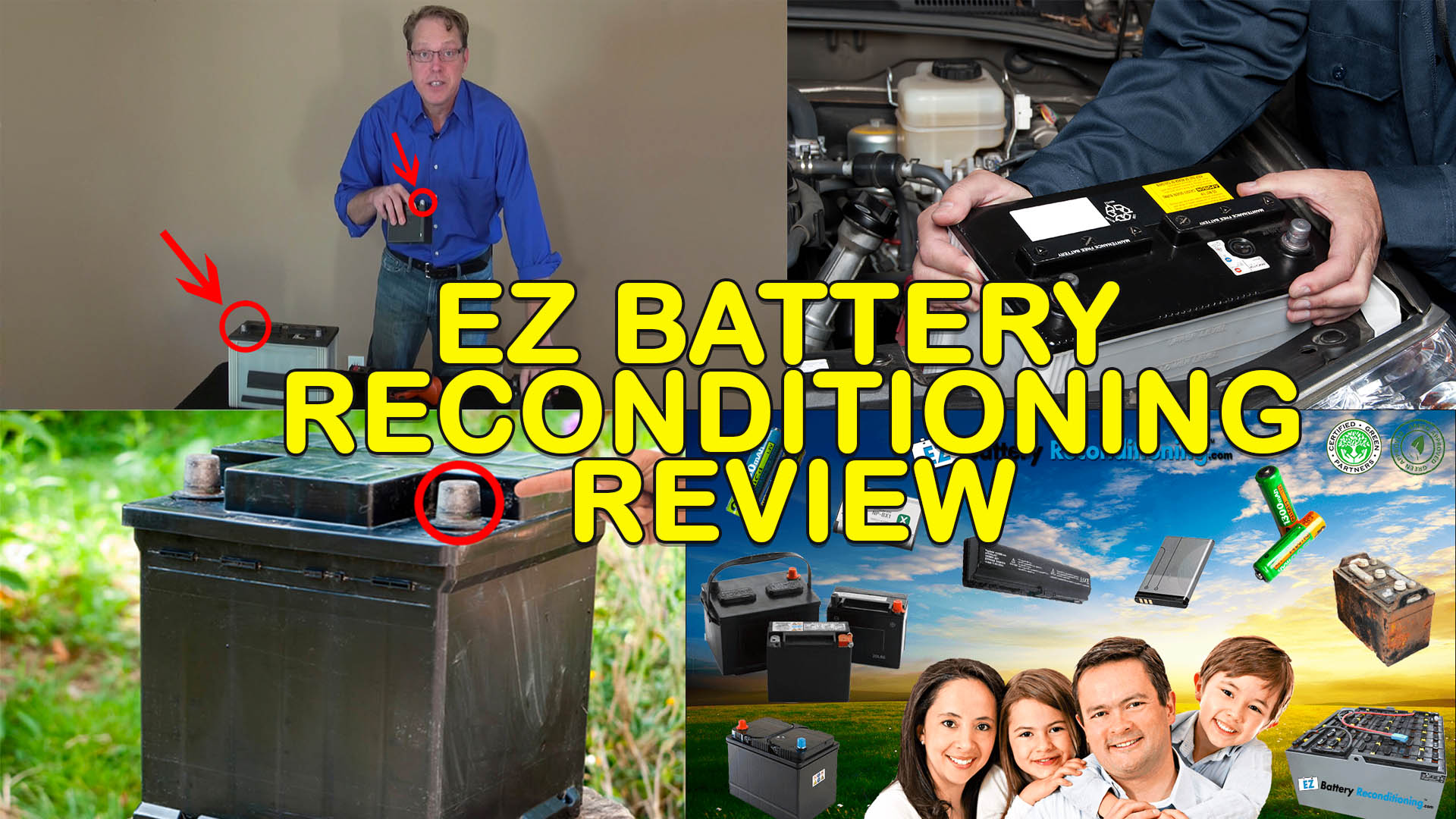EZ Battery Reconditioning Review - Must Read Before Buying